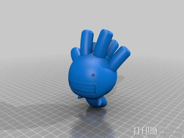 豆芽小文 3D模型  图5