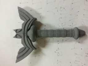 大师之剑剑柄 3D模型