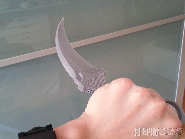 弯刀  3D模型  图6