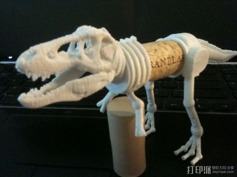 三角恐龙 霸王龙  3D模型  图2