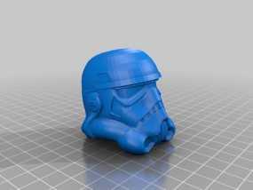 帝国风暴兵头盔 3D模型