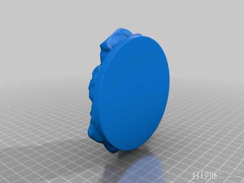 绿巨人浩克模型 3D模型  图6