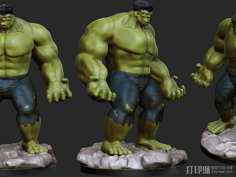 绿巨人浩克模型 3D模型  图7