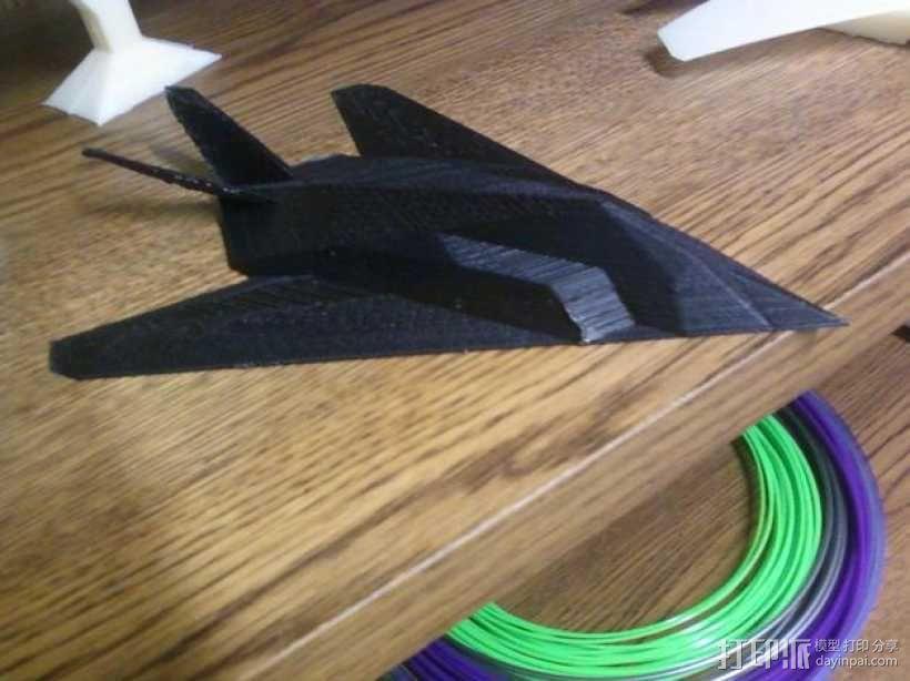 F-117夜鹰战斗机 3D模型  图1