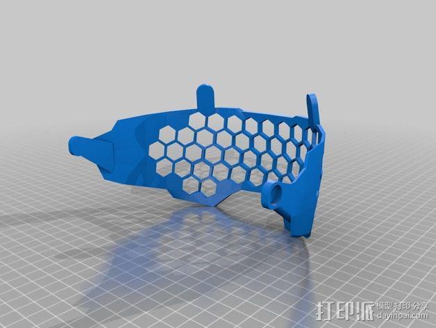 光晕4 头盔 3D模型  图8