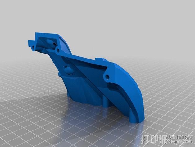 光晕4 头盔 3D模型  图7