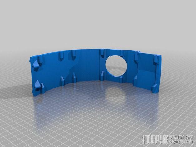 光晕4 头盔 3D模型  图9