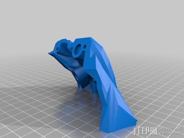 光晕4 头盔 3D模型  图10