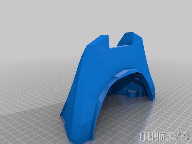 光晕4 头盔 3D模型  图16
