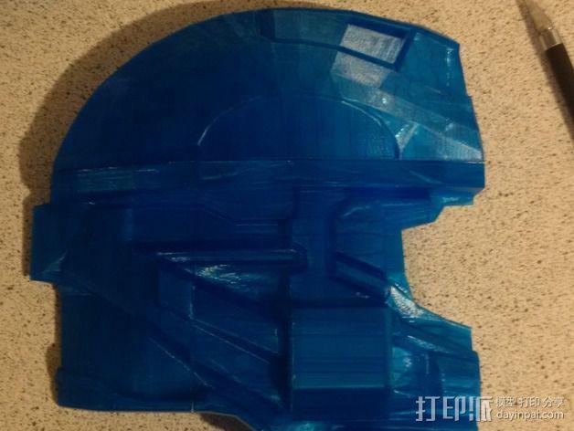 光晕4 头盔 3D模型  图21