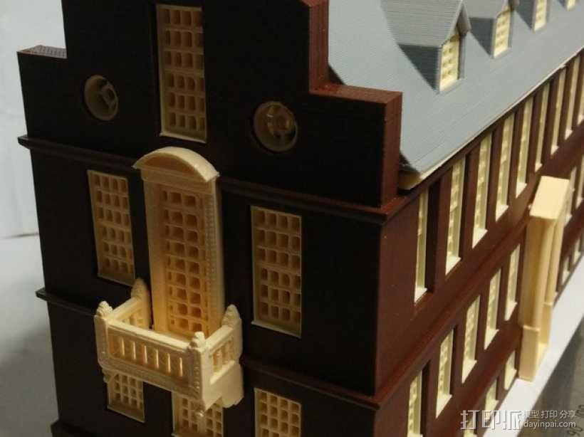 波士顿议会大厦 3D模型  图1
