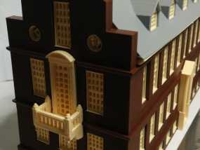 波士顿议会大厦 3D模型
