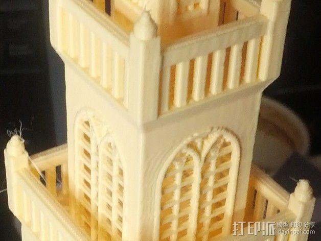 波士顿议会大厦 3D模型  图3