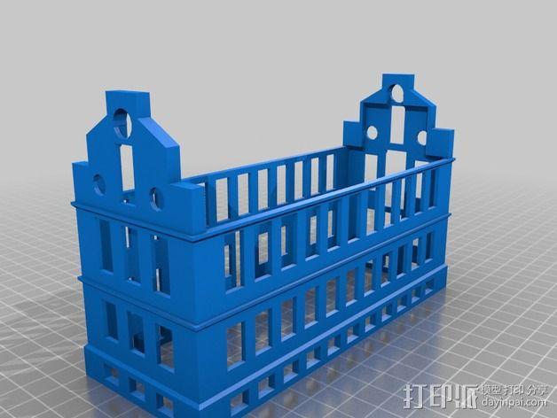 波士顿议会大厦 3D模型  图6