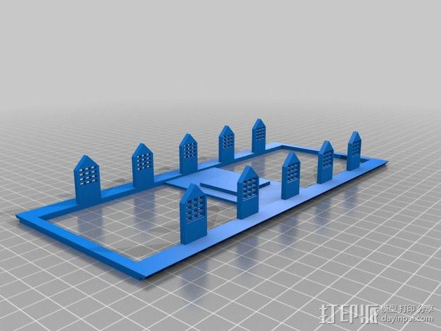 波士顿议会大厦 3D模型  图9