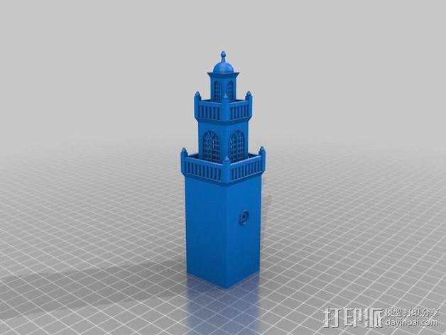 波士顿议会大厦 3D模型  图8