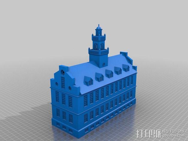 波士顿议会大厦 3D模型  图17
