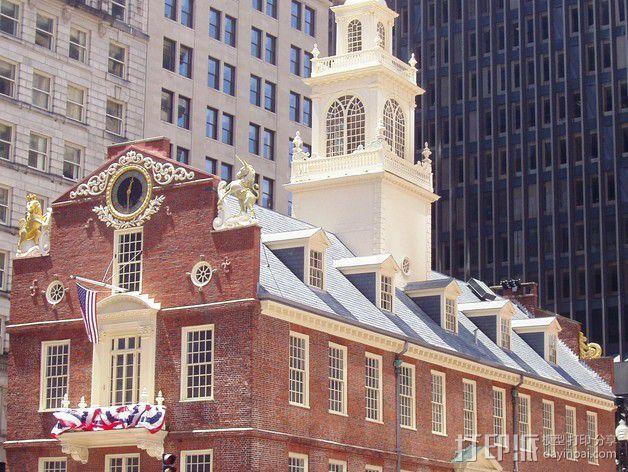 波士顿议会大厦 3D模型  图18