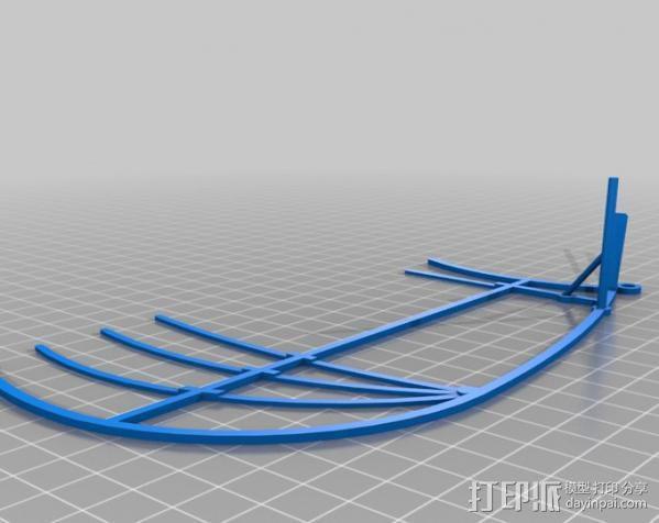 达芬奇扑翼机 3D模型  图5
