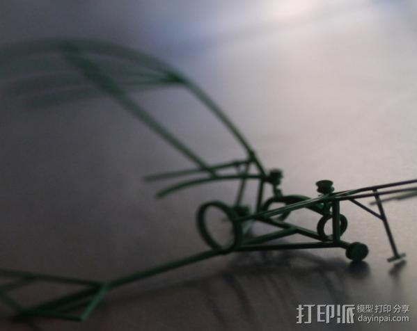 达芬奇扑翼机 3D模型  图7