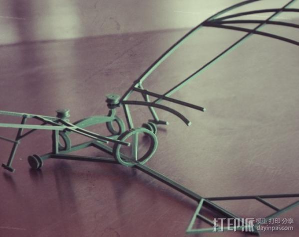 达芬奇扑翼机 3D模型  图9