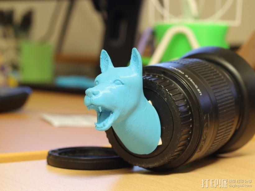 狗头模型 3D模型  图1