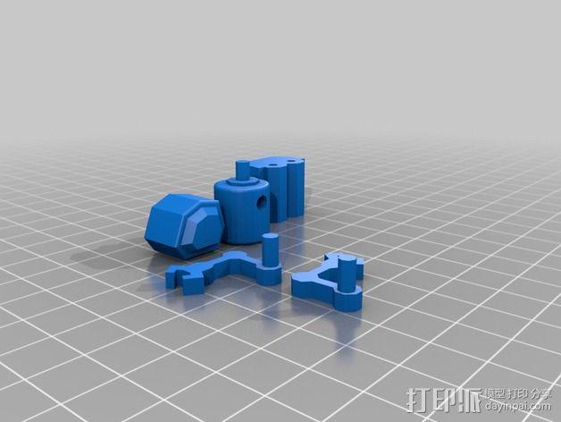 迷你机器人  3D模型  图3