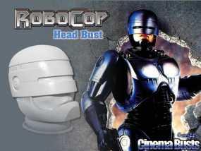 机械战警半身像 3D模型