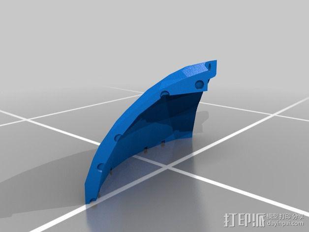 蠢朋克头盔 3D模型  图3