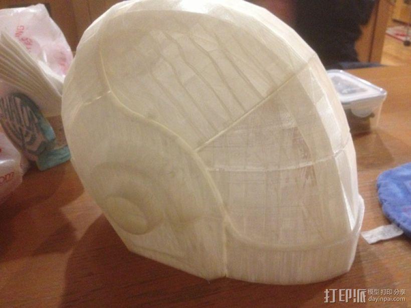 蠢朋克头盔 3D模型  图1