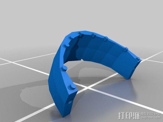 蠢朋克头盔 3D模型  图5