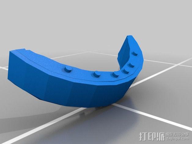 蠢朋克头盔 3D模型  图8