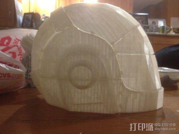 蠢朋克头盔 3D模型  图9