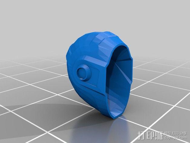 蠢朋克头盔 3D模型  图12