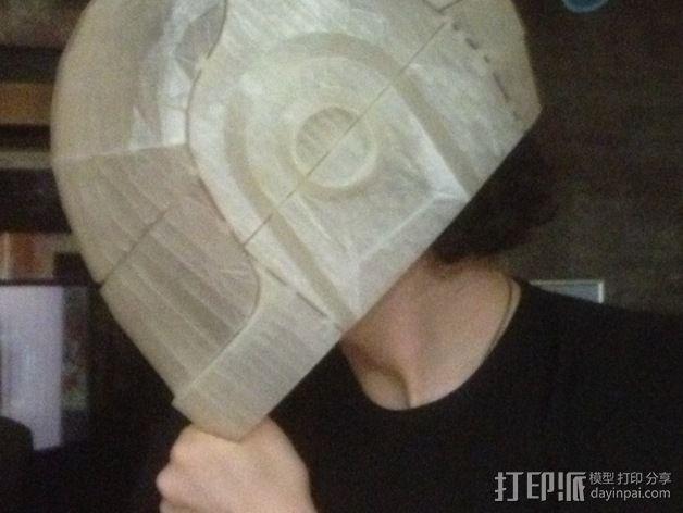 蠢朋克头盔 3D模型  图10
