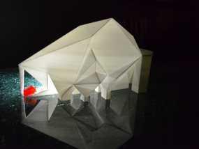未来火星基地 3D模型