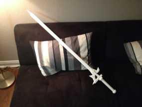 阐释者单手黑剑 3D模型