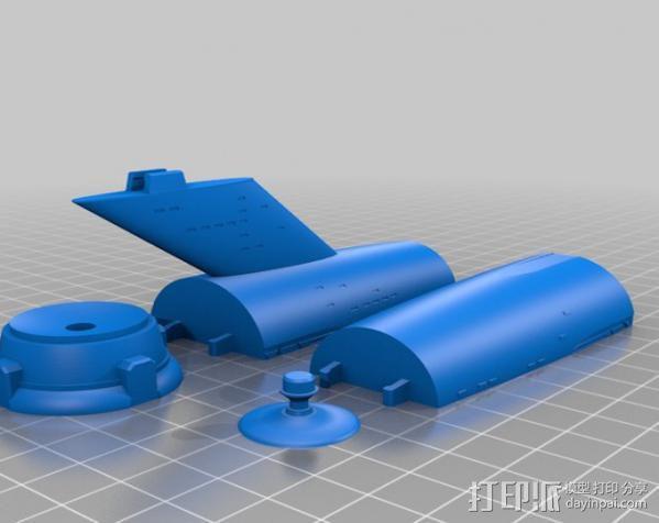 星际飞船模型 3D模型  图3