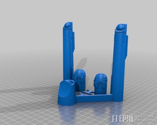 星际飞船模型 3D模型  图4
