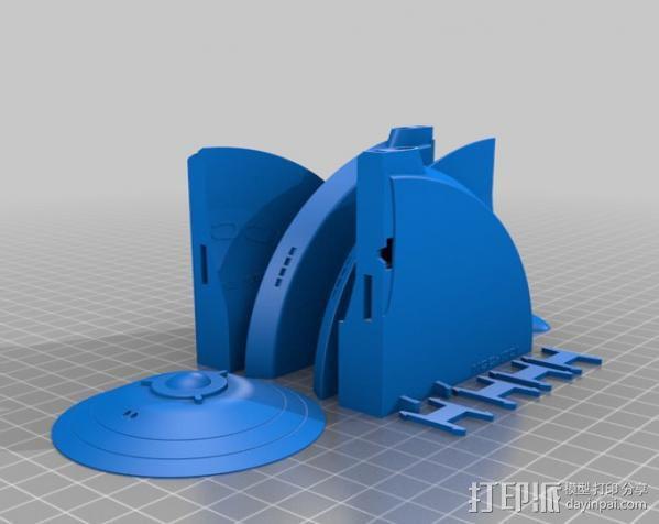 星际飞船模型 3D模型  图5
