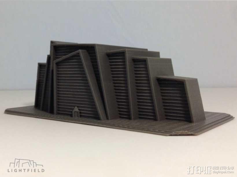 Lightfield 大厦 3D模型  图2