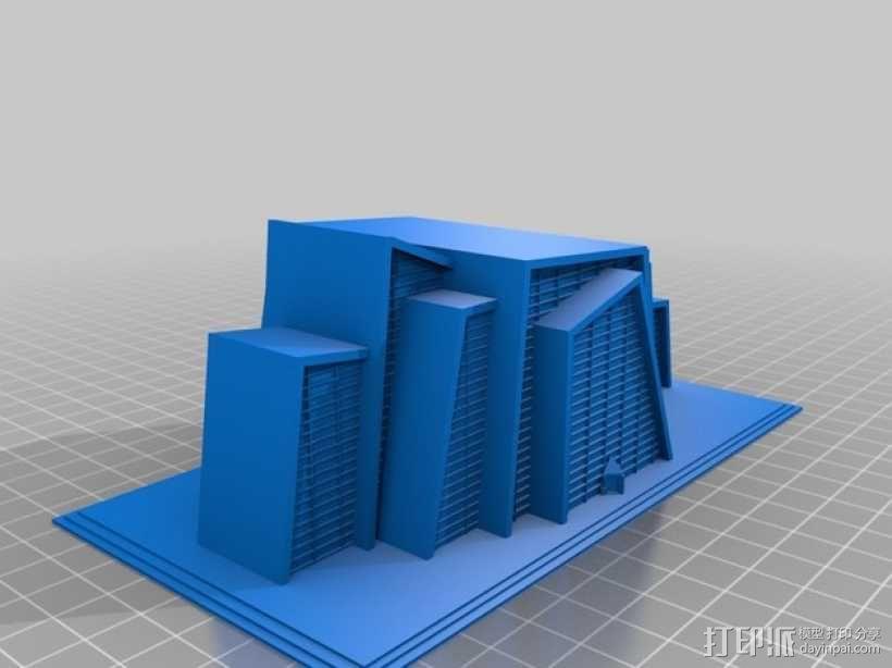 Lightfield 大厦 3D模型  图4