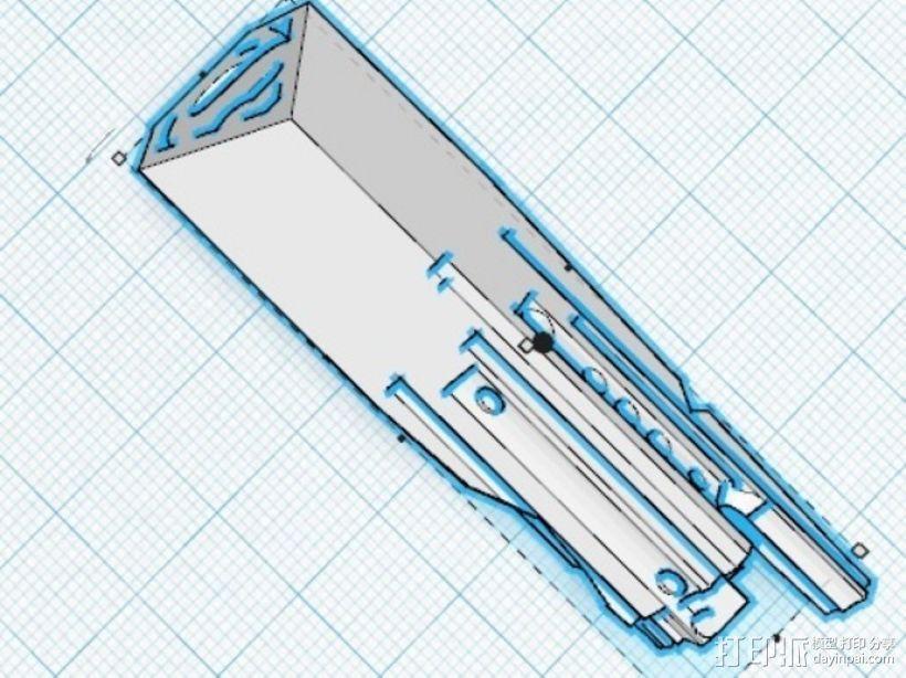 命运之匙 3D模型  图1