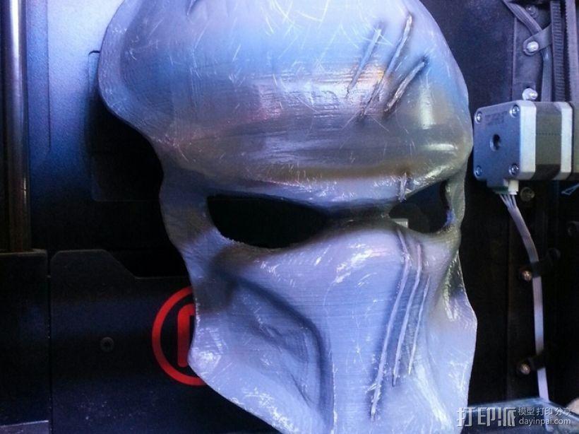 铁血战士面具 3D模型  图4