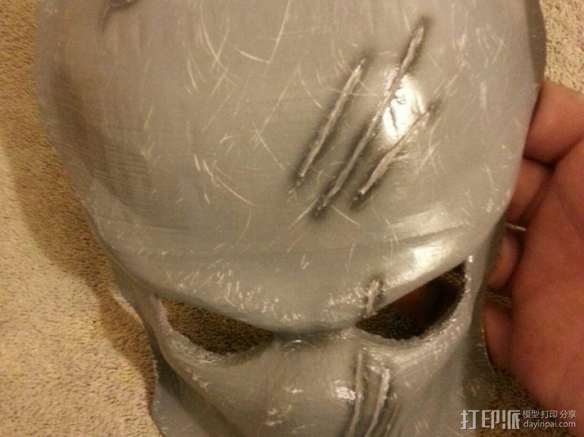 铁血战士面具 3D模型  图5