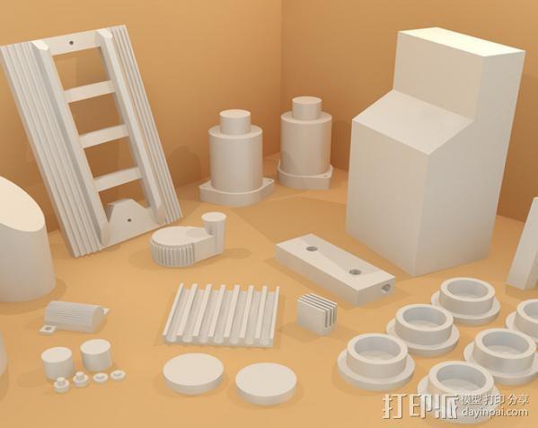 捉鬼敢死队Proton Pack 能量武器 3D模型  图4