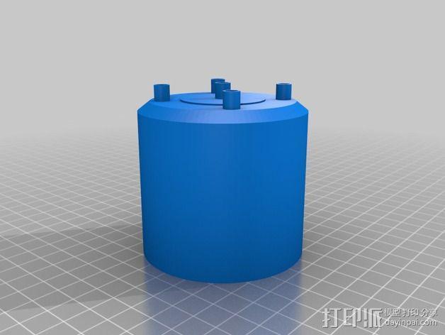 捉鬼敢死队Proton Pack 能量武器 3D模型  图2
