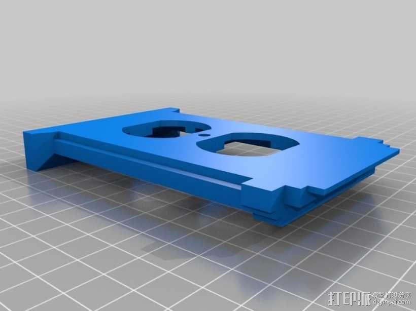 塔迪斯插座盖板 3D模型  图3