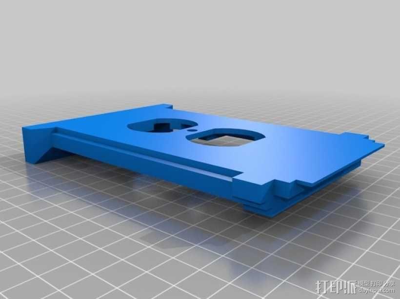 塔迪斯插座盖板 3D模型  图2