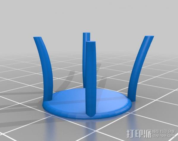 桑纳椅子 3D模型  图2